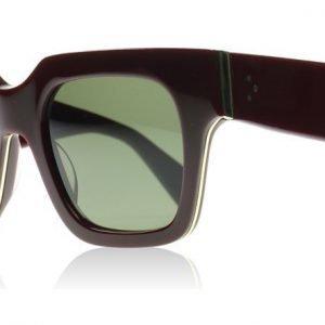 Celine Strat 41097 D65 Viininpunainen Aurinkolasit