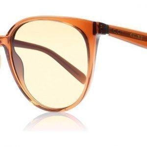 Celine Thin Mary EEBPP Tumma oranssi-ruskea Aurinkolasit
