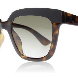 Christian Dior DiorSoft2 EDJHA Musta-havanna Aurinkolasit