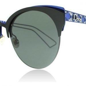 Christian Dior Diorama Club G5V2K Matta musta-sininen Aurinkolasit