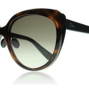 Christian Dior Diorific1N DiorIfic1N 3BZ Havana kulta matta musta Aurinkolasit