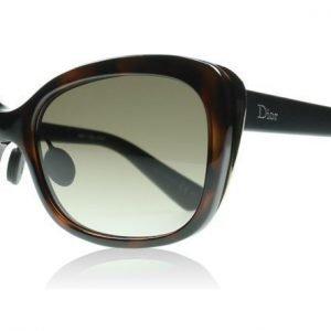Christian Dior Diorific2N 3BZ Havana kulta matta musta Aurinkolasit