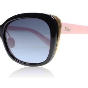 Christian Dior Diorific2N 3C3 Musta-vaaleanpunainen Aurinkolasit