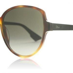 Christian Dior Dioronde2 5FCHA Havanna-musta Aurinkolasit