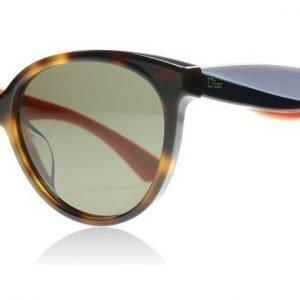 Christian Dior Envol3 LWK Havana Violetti ja Oranssi Aurinkolasit