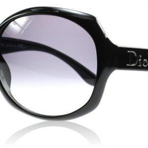 Christian Dior Glossy 1 584 Kiiltävä musta Aurinkolasit