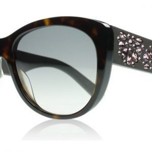 Christian Dior Inedite B0J Tumma havanna Ruskea kumi Aurinkolasit