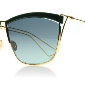 Christian Dior So Electric 1 26H Tummanvihreä- Keltainen kulta Aurinkolasit