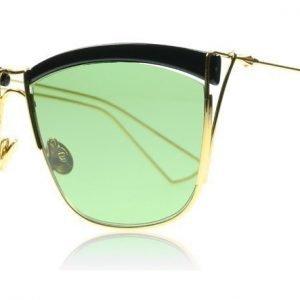 Christian Dior So Electric 1 MY2 Musta-keltainen kulta Aurinkolasit