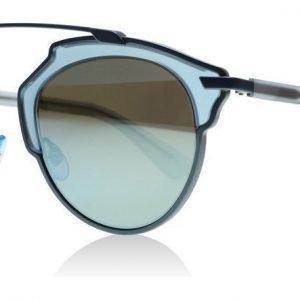 Christian Dior So Real RMJ Matta vaalea sininen Aurinkolasit