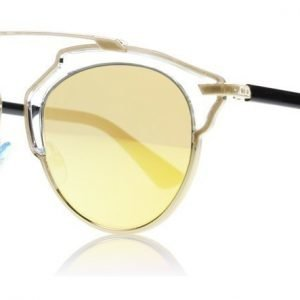 Christian Dior So Real U5S Kulta-kristalli-musta Aurinkolasit