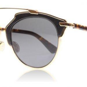 Christian Dior SoReal/L P7P Ruusukulta-havanna Aurinkolasit
