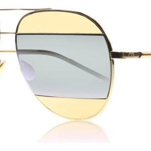 Christian Dior Split 1 0 Ruusukulta Aurinkolasit