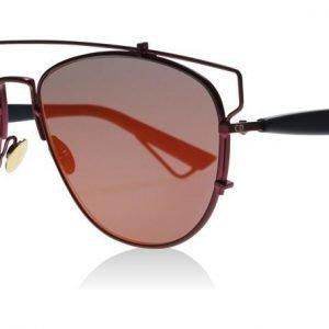 Christian Dior Technologic TVHMJ Purppura-viininpunainen Aurinkolasit