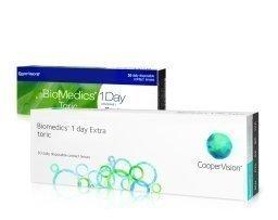 Cooper Vision BioMedics 1Day Extra Toric kertakäyttölinssit 30 kpl
