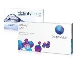 Cooper Vision Biofinity Toric yötäpäivää-linssit 6 kpl