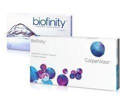 Cooper Vision Biofinity yötäpäivää-linssit 6 kpl