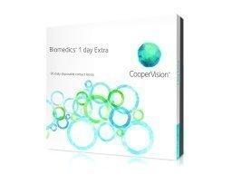Cooper Vision Biomedics 1Day Extra kertakäyttölinssit 90 kpl