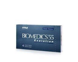 Cooper Vision Biomedics55 Evolution kuukausilinssit 6 kpl