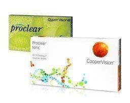 Cooper Vision Proclear Toric kuukausilinssit 6 kpl