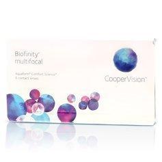 CooperVision Biofinity Multifocal kuukausilinssit