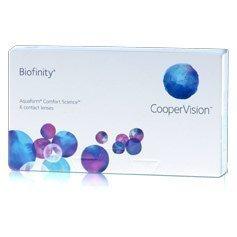 CooperVision Biofinity kuukausilinssit
