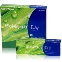 CooperVision Biomedics 1-Day kertakäyttölinssit