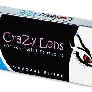 Crazy ColourVUE Power 2kpl Värilliset piilolinssit