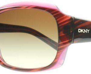 DKNY 4048 342413 Ruskea Raidallinen Violetti Aurinkolasit
