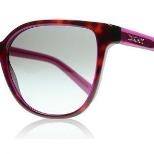 DKNY 4129 367211 Violetti Havana Aurinkolasit