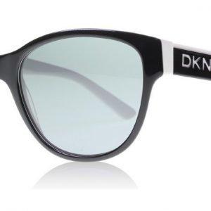 DKNY 4133 362787 Kiiltävä musta Aurinkolasit