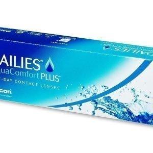 Dailies AquaComfort Plus 30kpl Kertakäyttölinssit