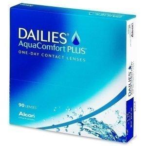 Dailies AquaComfort Plus 90kpl Kertakäyttölinssit