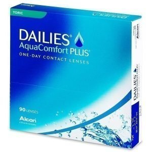 Dailies AquaComfort Plus Toric 90kpl Tooriset piilolinssit