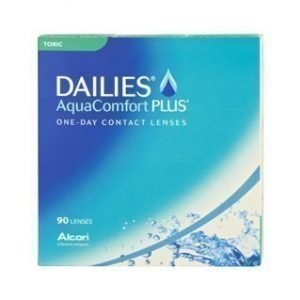 Dailies AquaComfort Plus Toric 90/pkt Piilolinssit