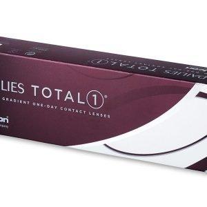 Dailies TOTAL1 30kpl Kertakäyttölinssit