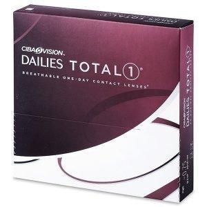 Dailies TOTAL1 90kpl Kertakäyttölinssit