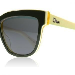 Dior DiorGraphic 39C48 Vihreä-kerma-keltainen Aurinkolasit
