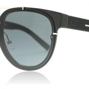 Dior Homme Black Tie 143S 143S E3Z Musta kristalli Aurinkolasit
