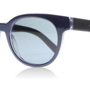 Dior Homme Black Tie 182S HZA Sininen kristalli-musta Aurinkolasit