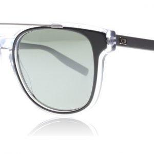 Dior Homme Black Tie 211S LCPSF Musta-kristalli Aurinkolasit