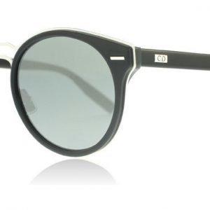 Dior Homme Dior0209S 2LBT4 Musta-hopea Aurinkolasit
