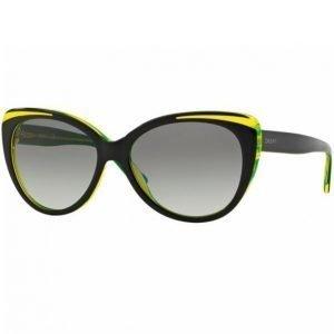 Dkny Dy4125 Aurinkolasit Top Black On Yellow