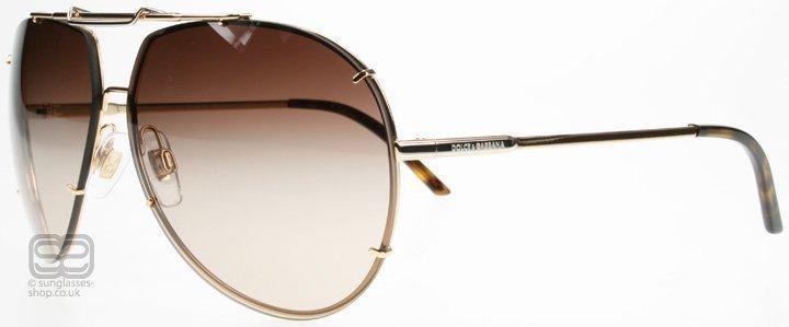 Dolce and Gabbana 2075 Iconic Evolution 2075 034/13 Kulta Aurinkolasit