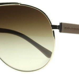 Dolce and Gabbana 2119 Over Molded Rubber 119013 Kulta-ruskea Aurinkolasit