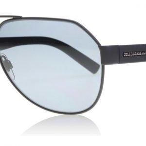 Dolce and Gabbana 2149 126081 Matta musta Aurinkolasit