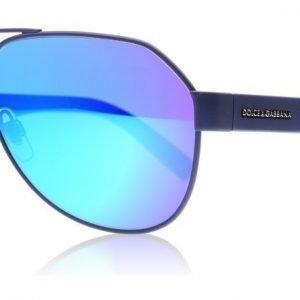 Dolce and Gabbana 2149 127325 Matta sininen Aurinkolasit