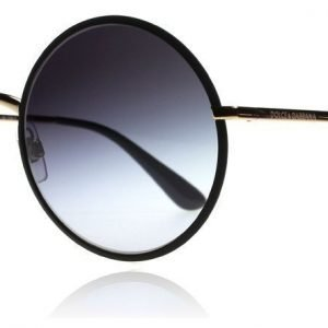 Dolce and Gabbana 2155 12968G Matta musta-kulta Aurinkolasit