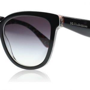 Dolce and Gabbana 4190 Lace 4190 27798G Musta Aurinkolasit