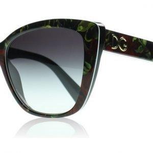 Dolce and Gabbana 4216 29388G Ruusuinen Musta Aurinkolasit